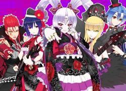 パチンコ「CR 熱響!乙女フェスティバル ファン大感謝祭LIVE」で使用されている歌と曲の紹介。「贖いのSKY / 覇道」
