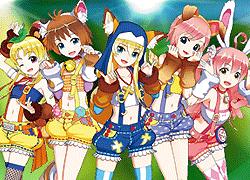 パチンコ「CR 熱響!乙女フェスティバル ファン大感謝祭LIVE」で使用されている歌と曲の紹介。「渚のラブストーリー / ち~むアニマるん!」