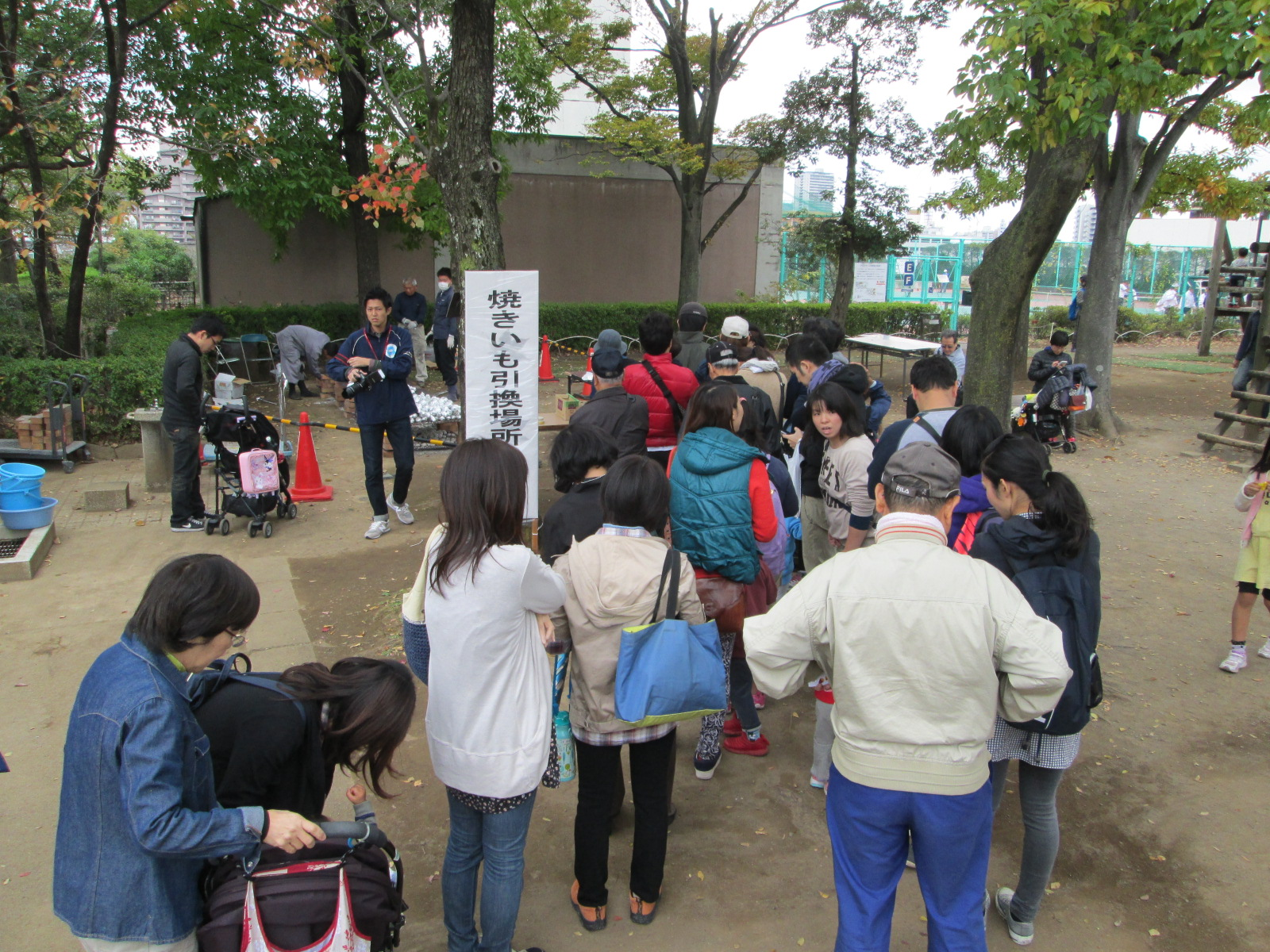 151031秋のイベント【焼いも】 (1)