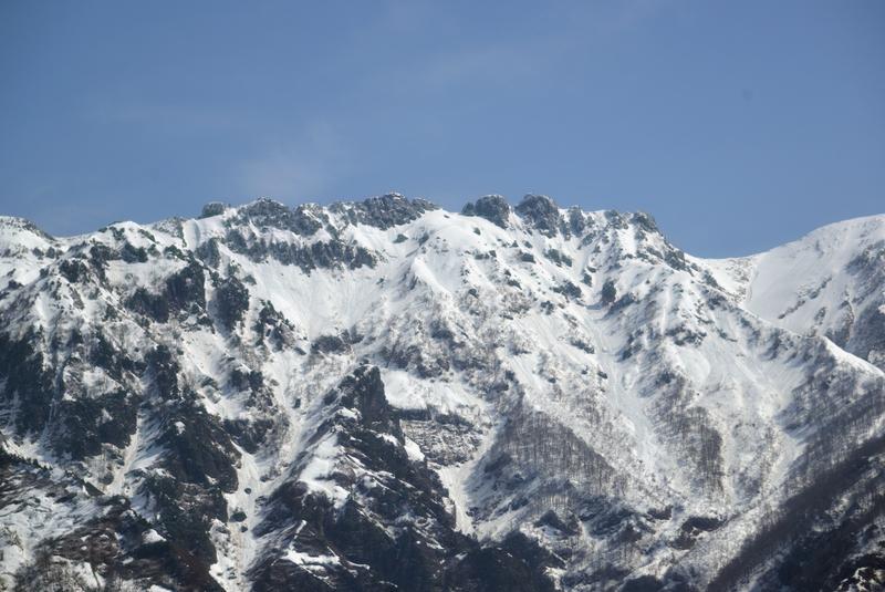 残雪 八海山-3