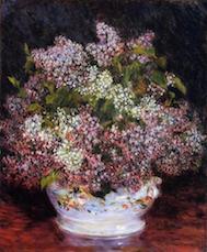 花のブーケ ルノワール アート名画館