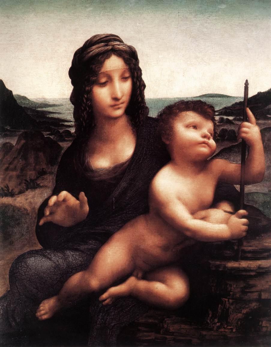 ダヴィンチ【糸車の聖母