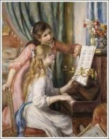 ピアノを弾く少女たち ルノワール