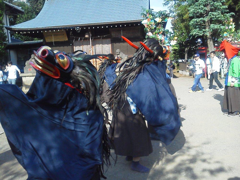F1000032溝沼氷川神社獅子舞2015