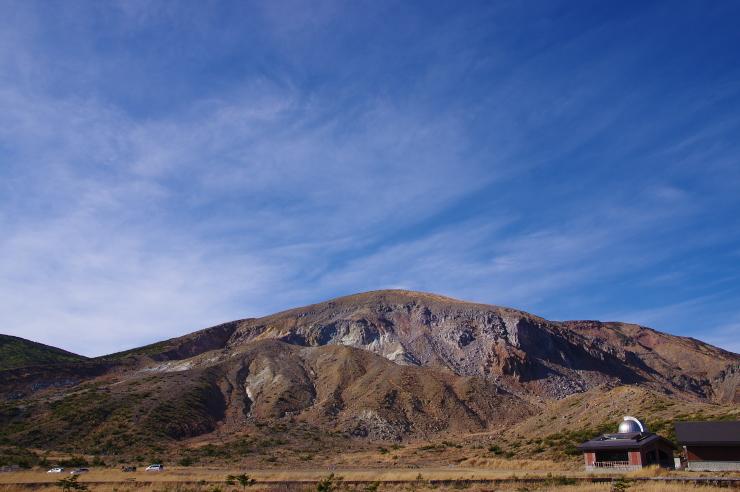 浄土平から見る一切経山