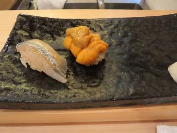 細魚、雲丹