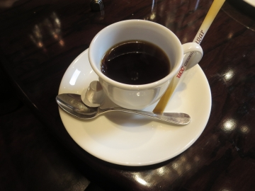 d食後のコーヒー