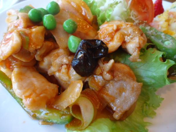 3/26 ソフィア・チキンと野菜のトマトソース炒