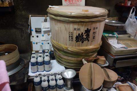 賀茂鶴の樽酒