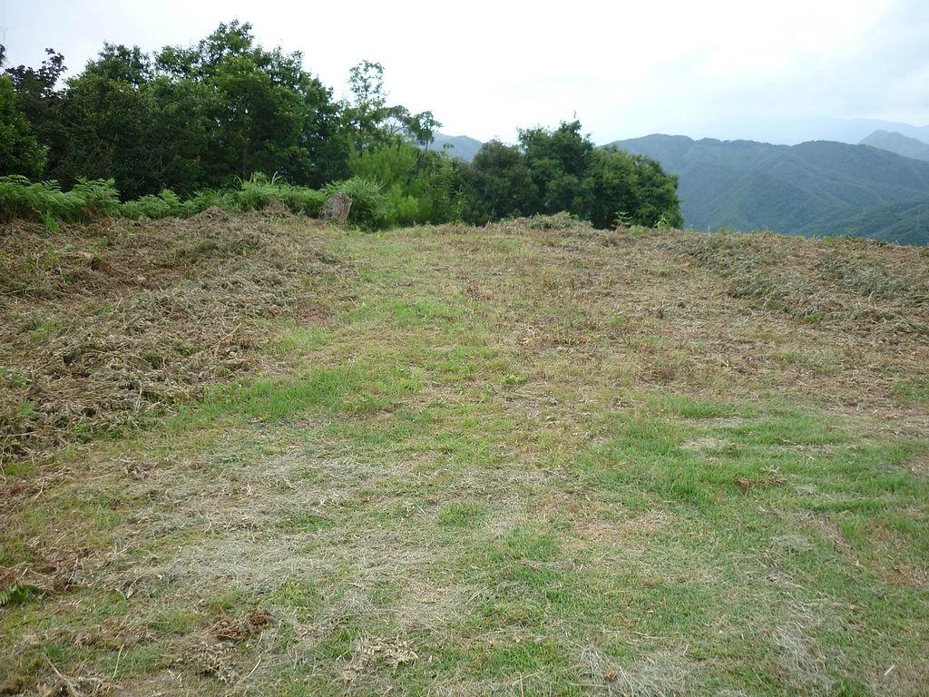 山上の本丸があった、その跡