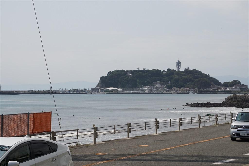 鎌倉高校前駅が近くなってきた_4