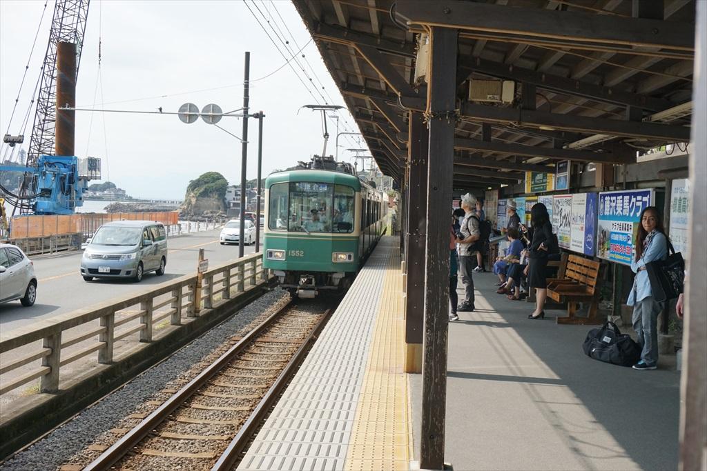 鎌倉行きが到着