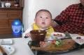 孫のお食い初め