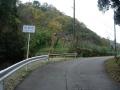 151122陀羅谷への上り、地味に府県境を越える