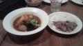 151122夕食のスープカレー