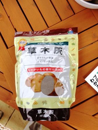 20160328ジャガイモ草木灰