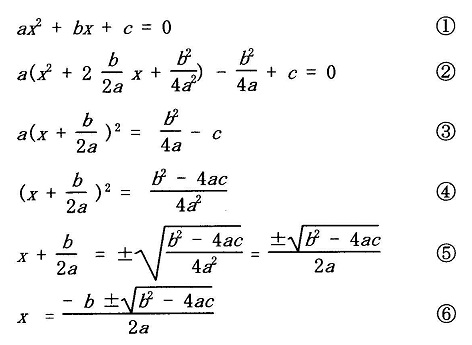 20151009b2次方程式の解