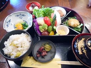 京野菜ランチ