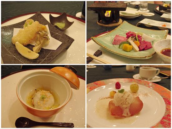 奥入瀬・夕食②2015