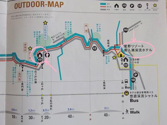 渓流MAP①