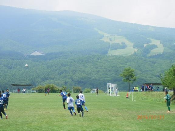 夏季サッカー合宿