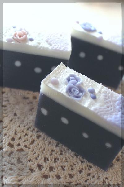 紫根石鹸 手作りせっけん デザイン 石鹸 石けん インフューズドオイル 20151023