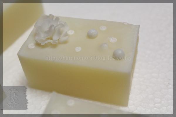 椿オイル 椿油 手作り石鹸 フラワーコンフェ ジェル化 20151116