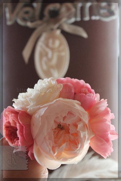 手作り石鹸 真空抽出 バラ 薔薇 20151031