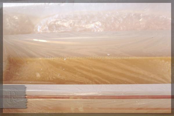 コンフェ お正月 ジェル化 保温中の汗 石鹸 20151110