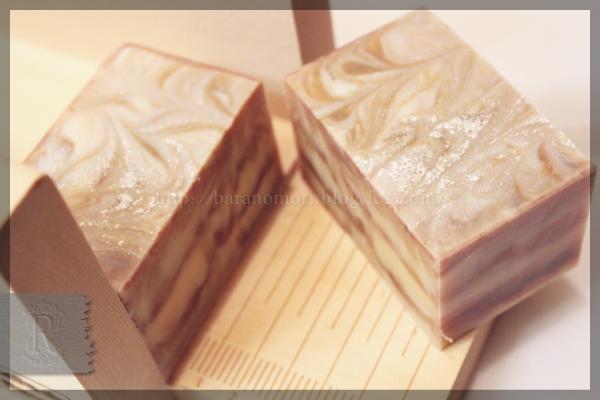 ゴートミルク ココアバター 手作り石鹸 20151123 マルセイユ石鹸