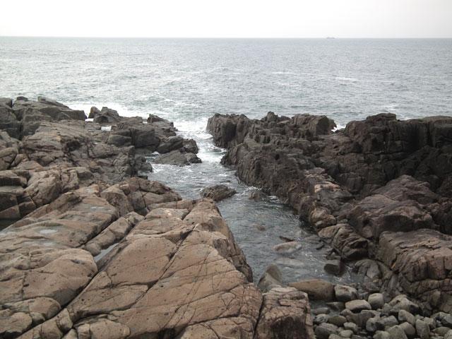 久慈 侍浜の風景(2-2)