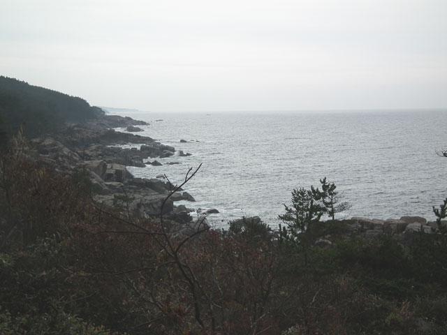 久慈 侍浜の風景(2-3)