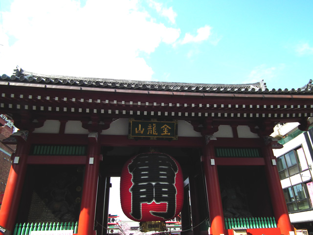 浅草寺の提灯