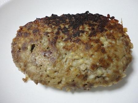 ハンバーグ(もち麦入り)