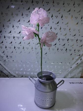 スイトピーの花びらを作り替えて③