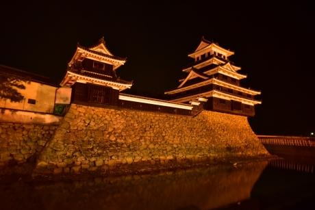 1夜の中津城