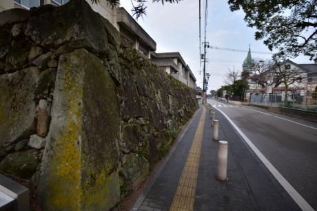 10大手門の石垣
