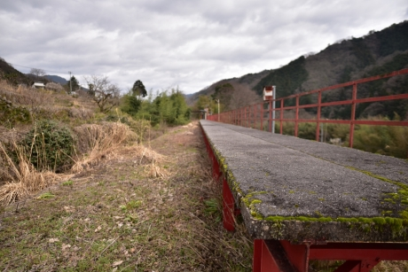 7廃線跡のホーム