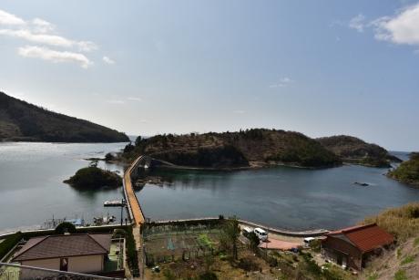 6橋を渡って島津島へ