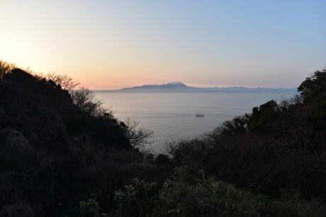 3朝の大山