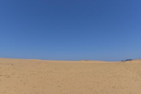 9晴天の砂丘