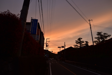 37良い夕焼け