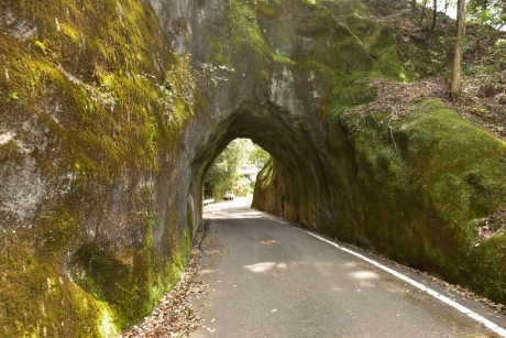 12素掘りのトンネル