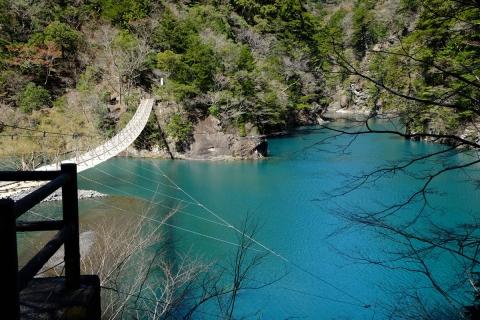 31寸又峡夢のつり橋