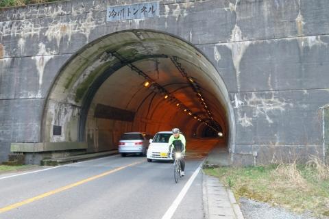 31冷川トンネル出口