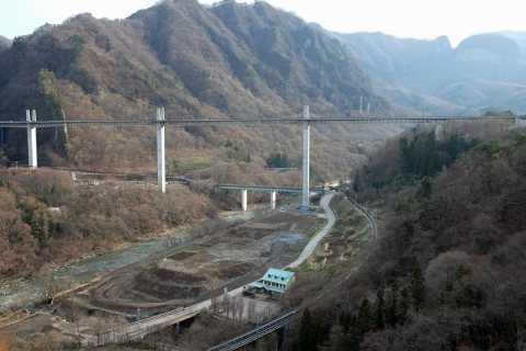 37八ッ場ダム工事で変わる現地