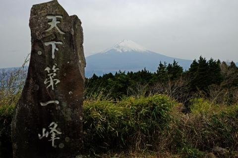 07駿河台からの富士山