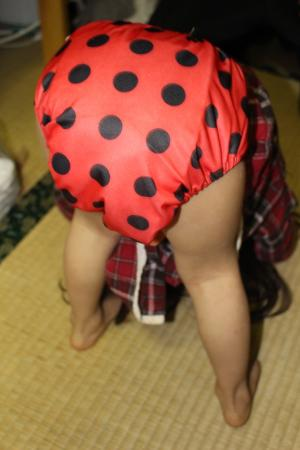 三歳7か月の次女着用時