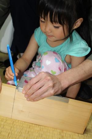子どもたちコテ台DIY