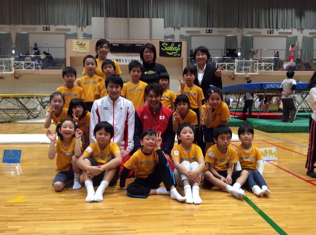 美原体育協会会長杯争奪 第8回堺市トランポリン大会で